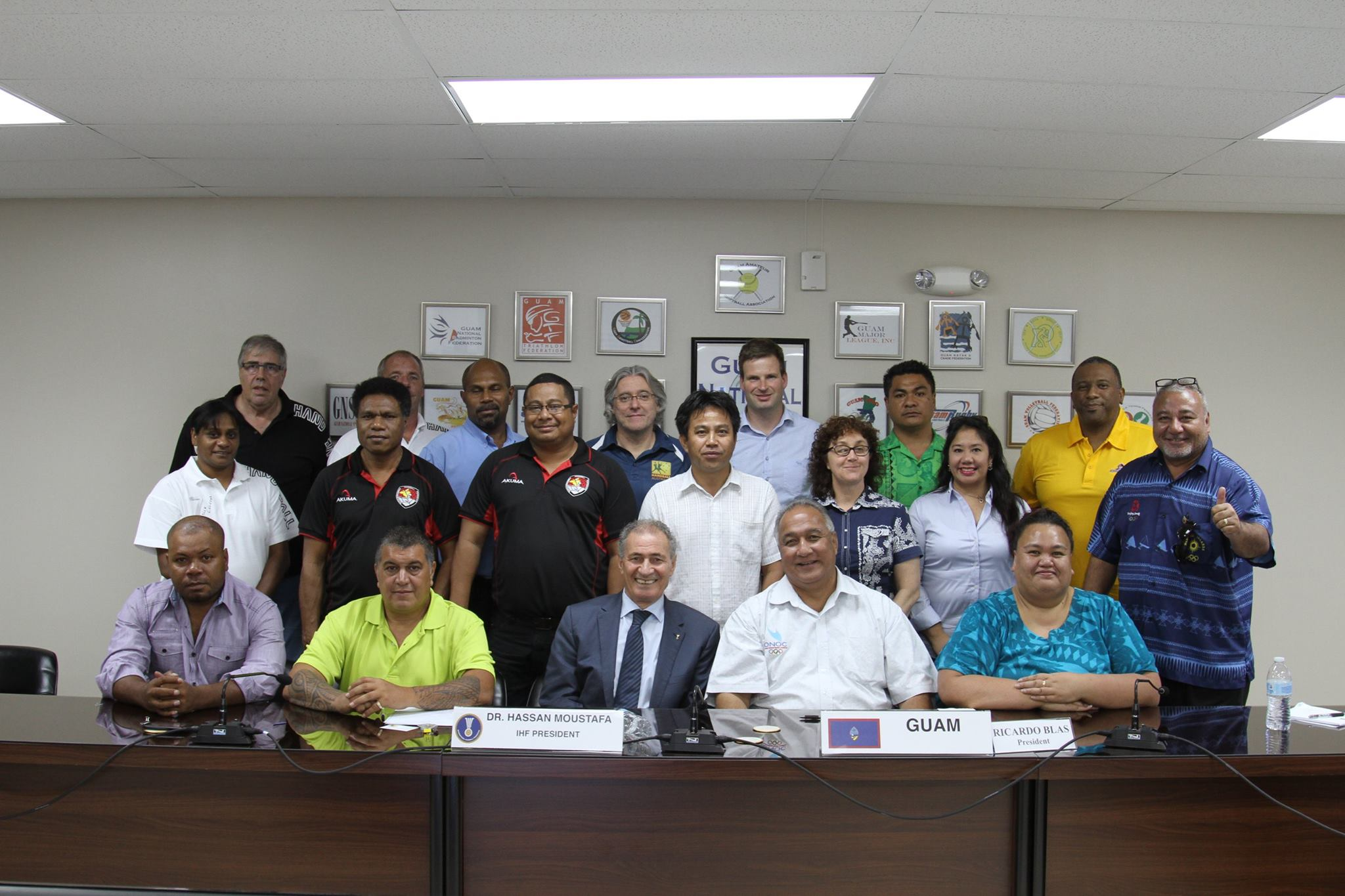 IHF and Oceania meeting