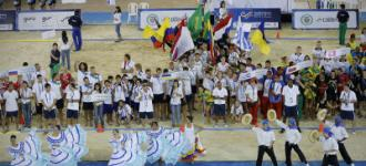 Colombia Welcomes Beach Handball with an unforgettable opening ceremony