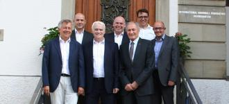 Great Britain, England and Scotland welcomed at IHF Head Office
