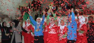 Iran women are champions of west Asia