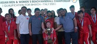 Qatar defend title; China claim first Asian Beach Handball Championship trophy
