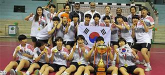 Korea women's youth continue continental domination