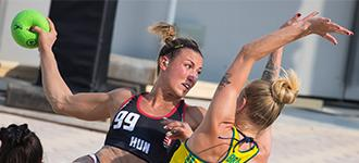 Why do you love beach handball?