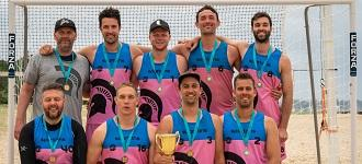 Australia's biggest beach handball event ever comes to an exciting end