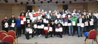Coaches course success in Tunisia