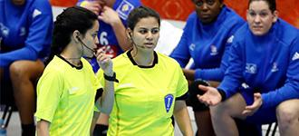 Yasmina and Heidy Elsaied: Leading the way for female referees in Egypt