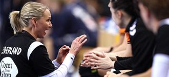 """We have a lot of people working so that female handball can be better and better"""