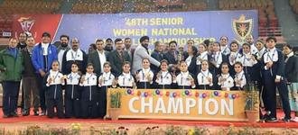 Indian Railways take 48th Indian national women's title