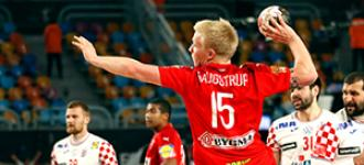 Denmark outclass Croatia and send Qatar into quarter-finals