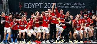 Denmark claim second straight Men's World Championship gold