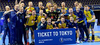 Splendid Sweden through to Olympic Games
