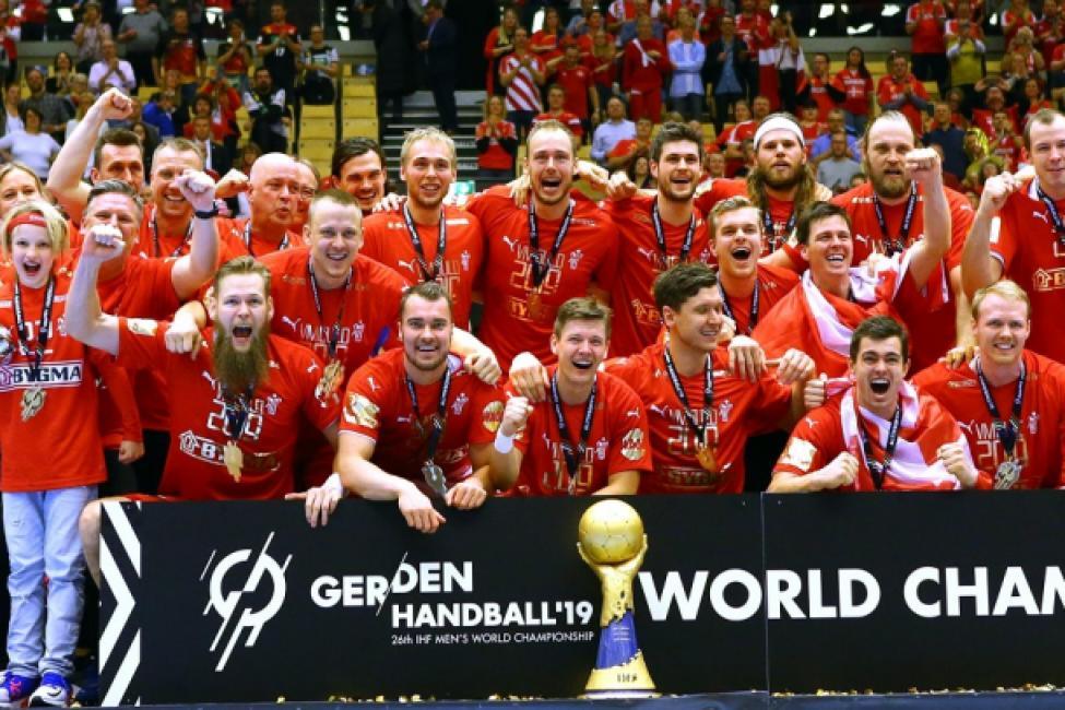 World champions Denmark