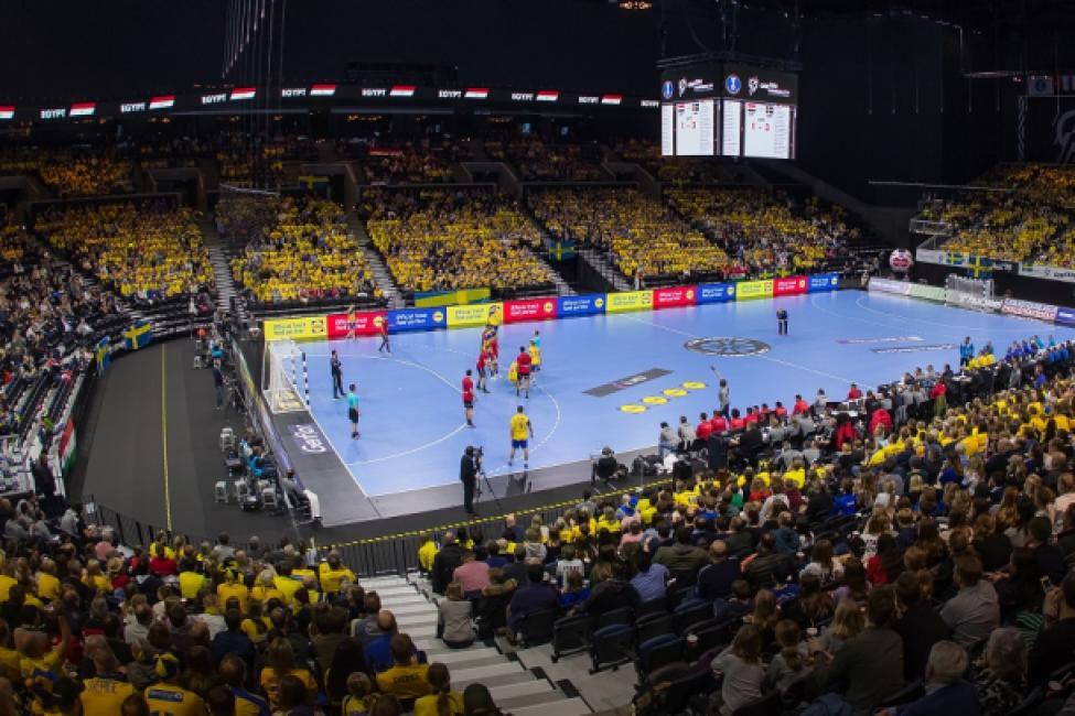 Egypt vs Sweden - Royal Arena Copenhagen
