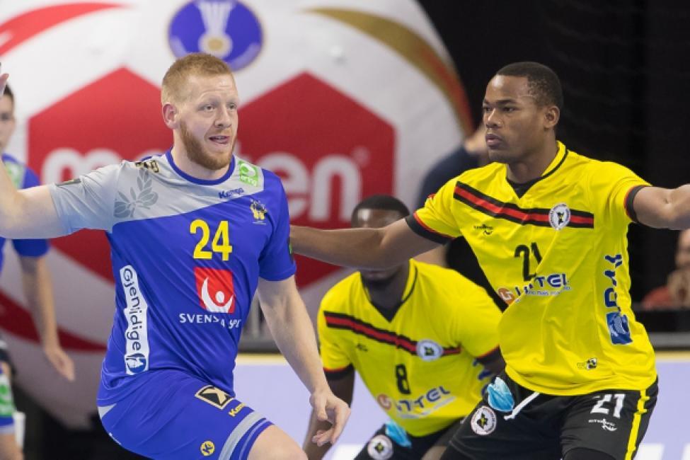 Sweden vs Angola