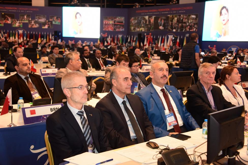 XXXVI IHF Ordinary Congress in TUR