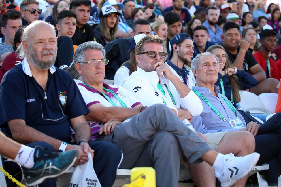 IHF President at the Buenos Aires 2018 Youth Olympic Games