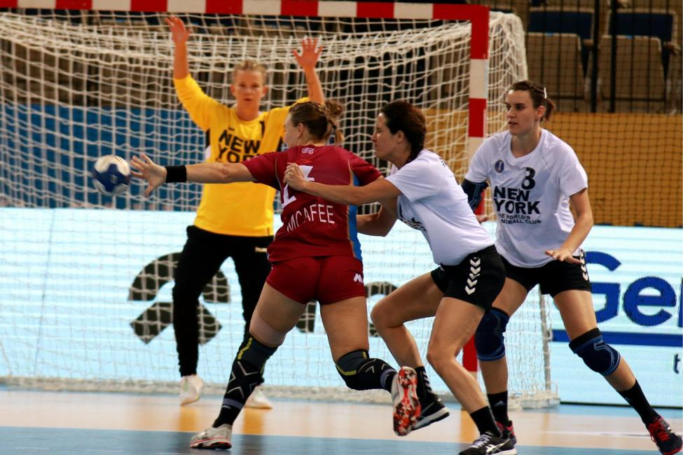 New York City Team Handball vs University of Queensland