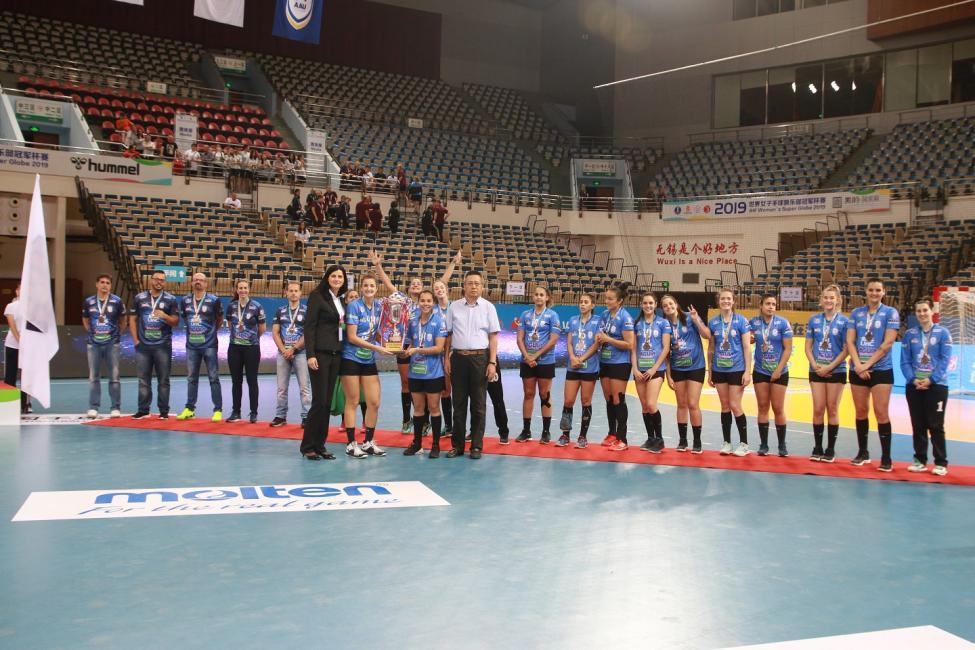 Bronze medallists A.A. UnC / Concórdia
