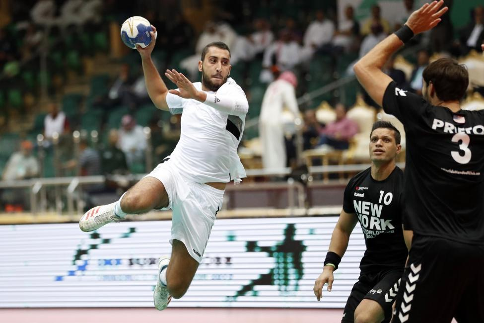 Al Mudhar vs New York City Team Handball