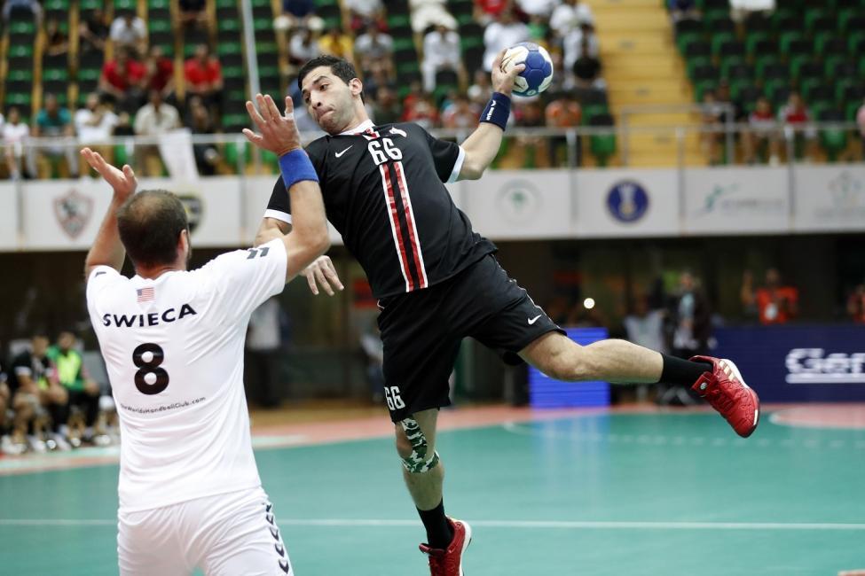 Zamalek vs New York City Team Handball