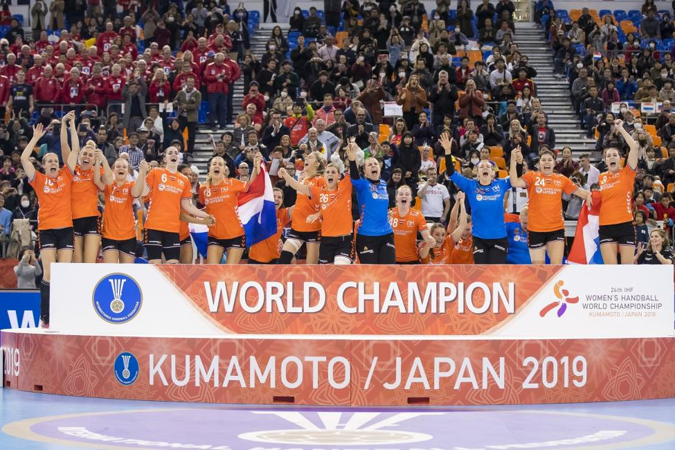 World champions Netherlands