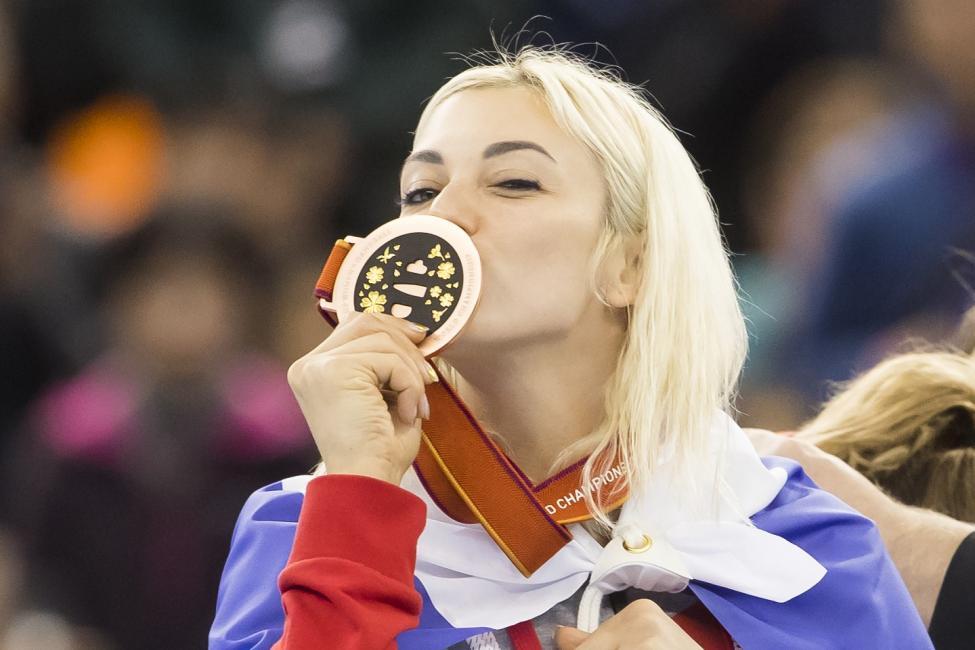 Bronze medallists Russia