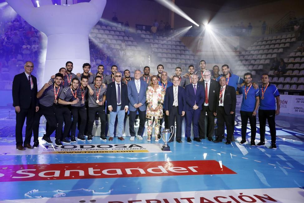Spain 2019 bronze medallists Egypt
