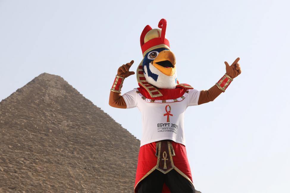 Egypt 2021 - Mascot Horus