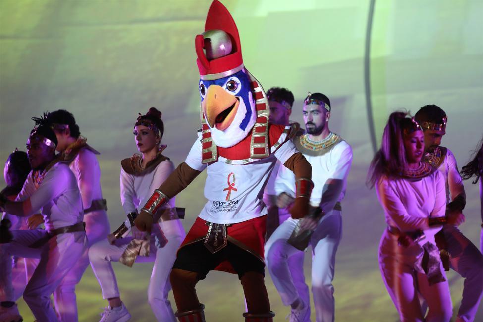 Egypt 2021 mascot