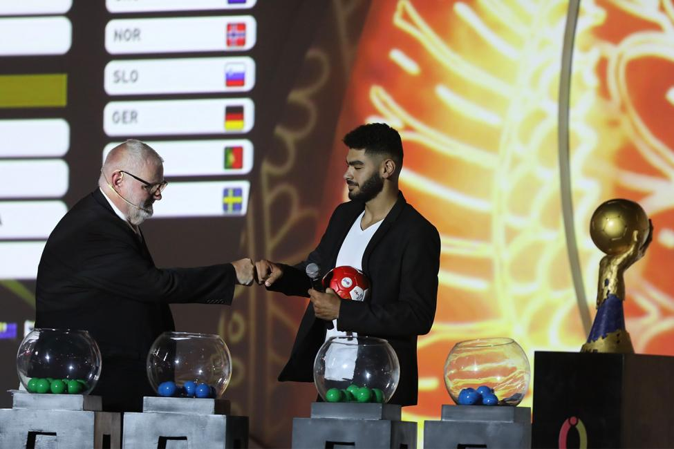 Egypt 2021 draw