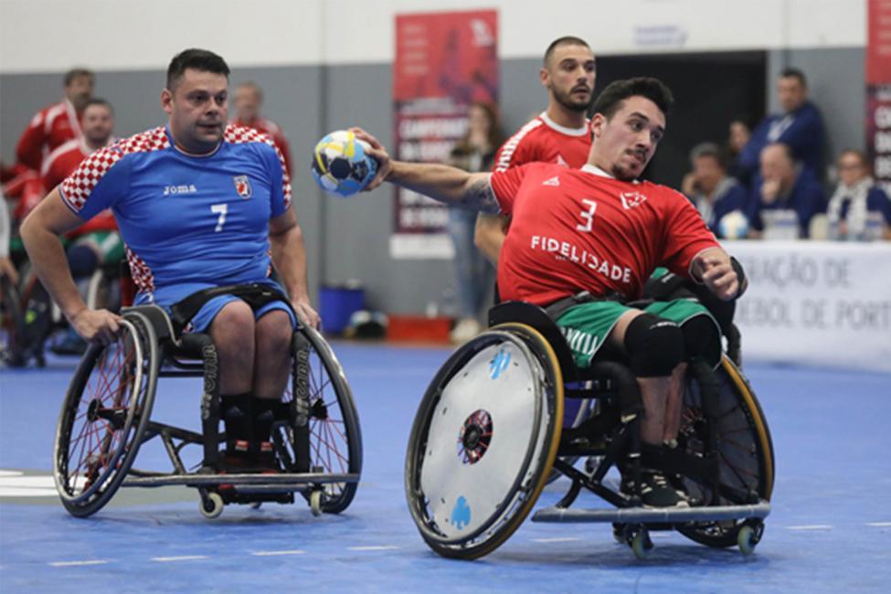 Wheelchair Handball