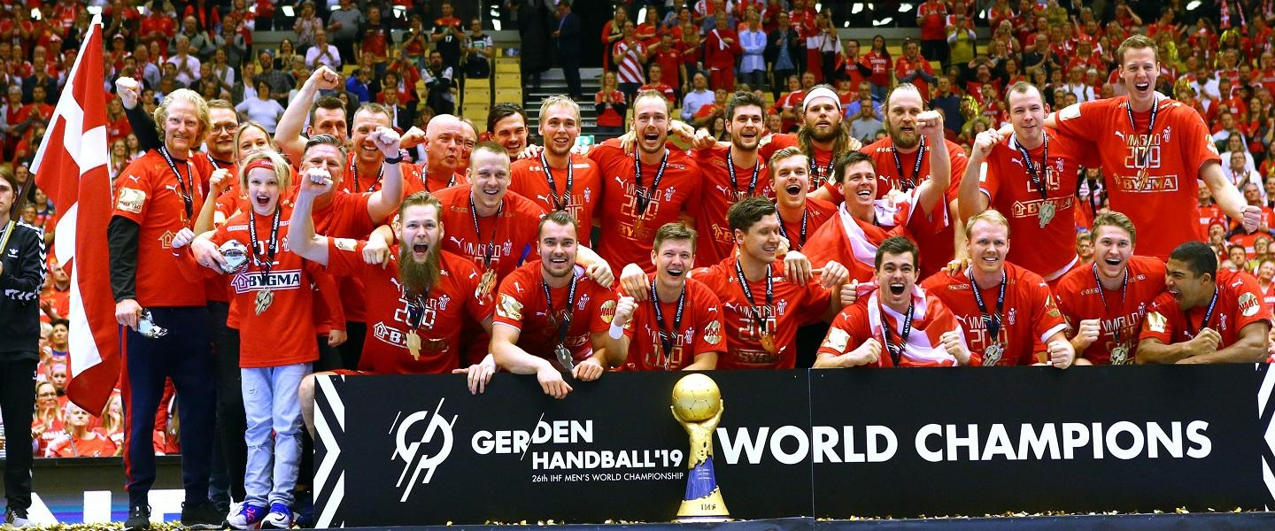 Flawless Denmark claim first world title