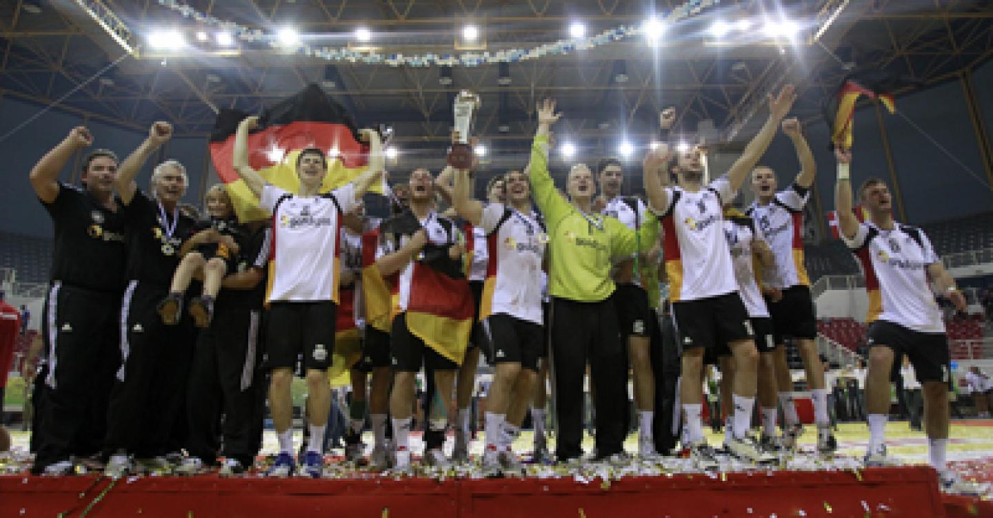 Gold for Germany: The defending Champion won the final