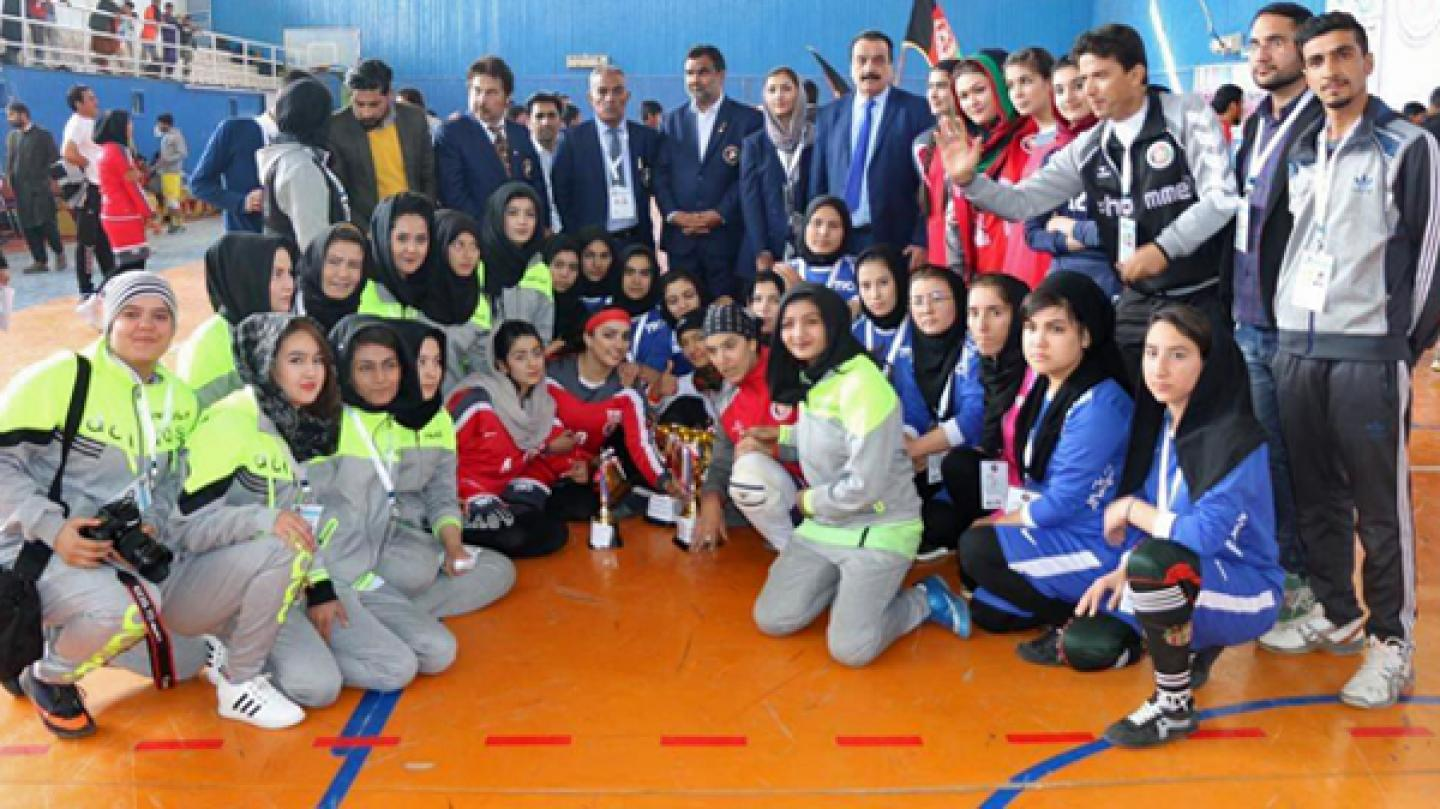 Debut Afghanistan National Women's Championship success