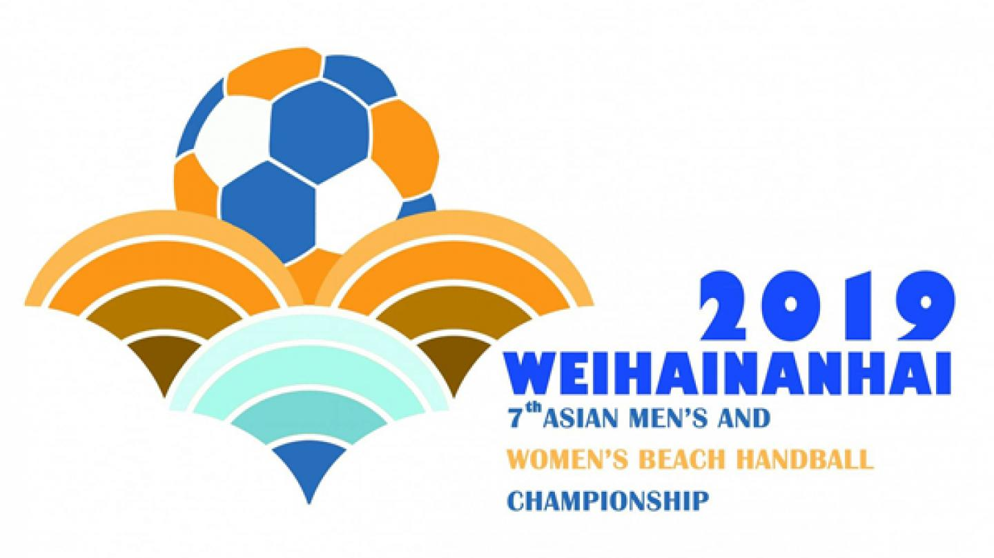 7th AHF Men's and Women's Beach Handball Asian Championship draw