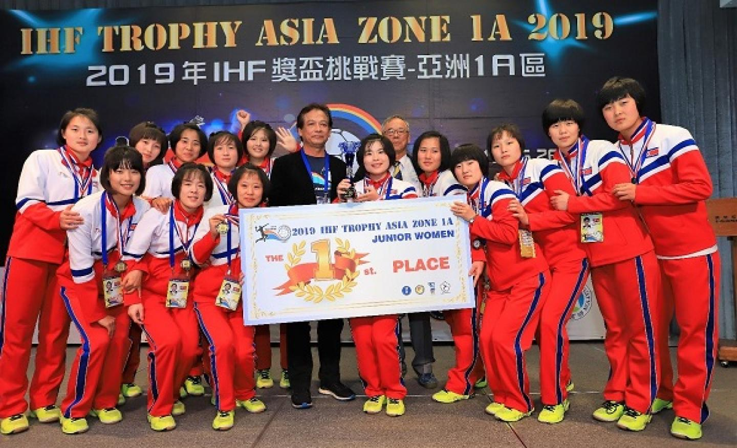 Democratic People's Republic of Korea do the double in Chinese Taipei