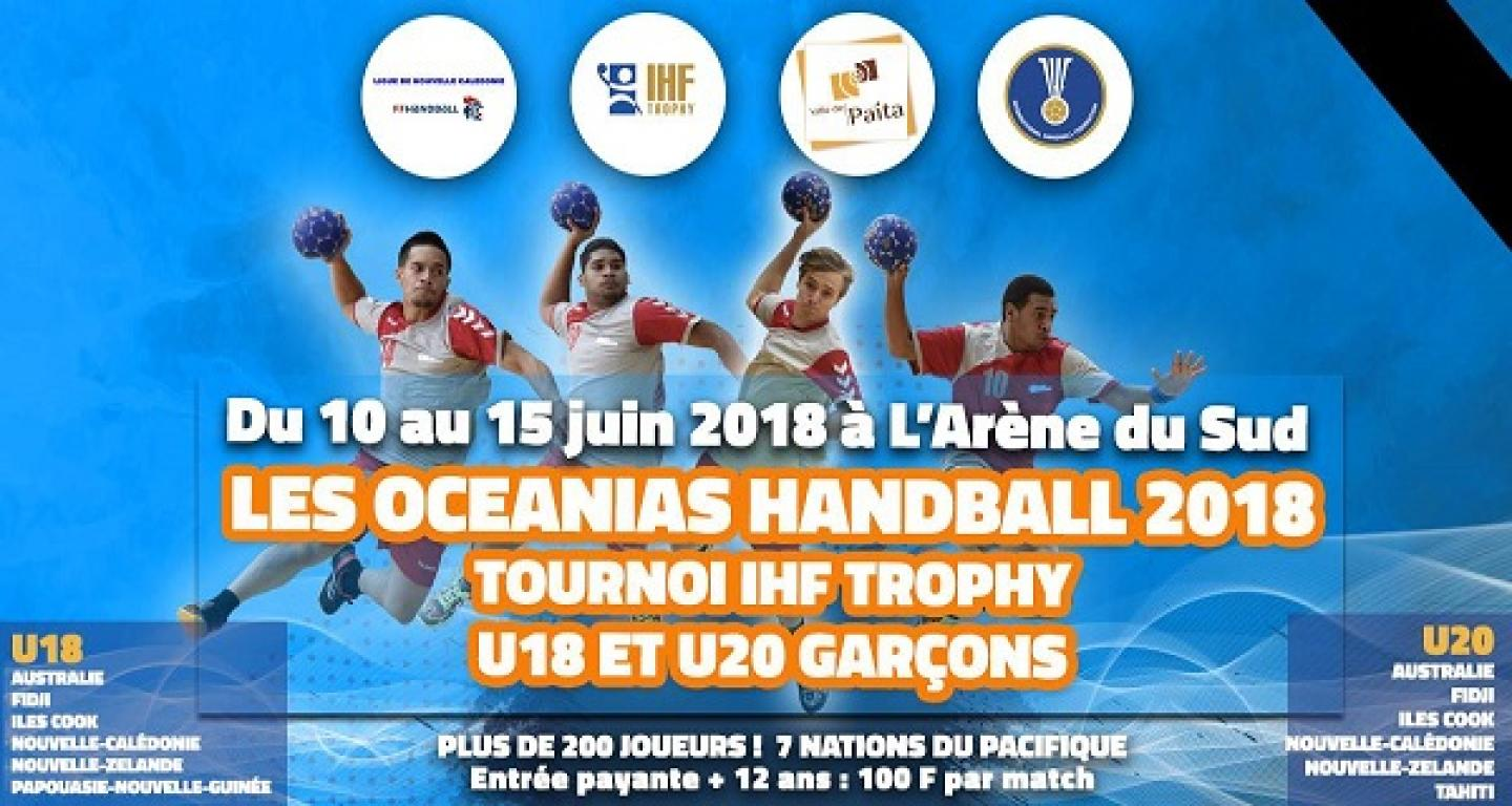 12 teams set for IHF Trophy Oceania throw-off