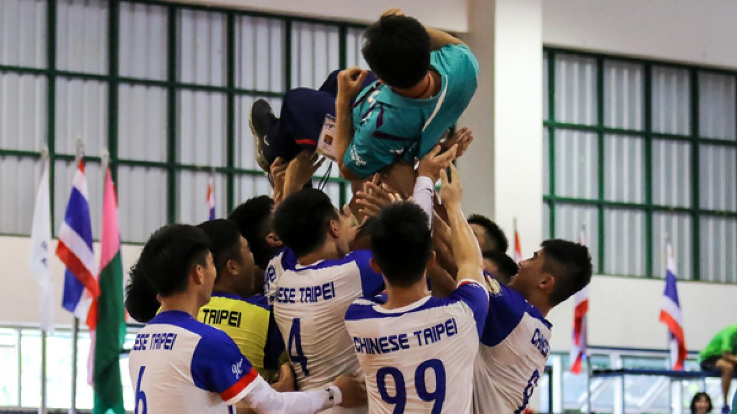 Chinese Taipei make it a double in Thailand