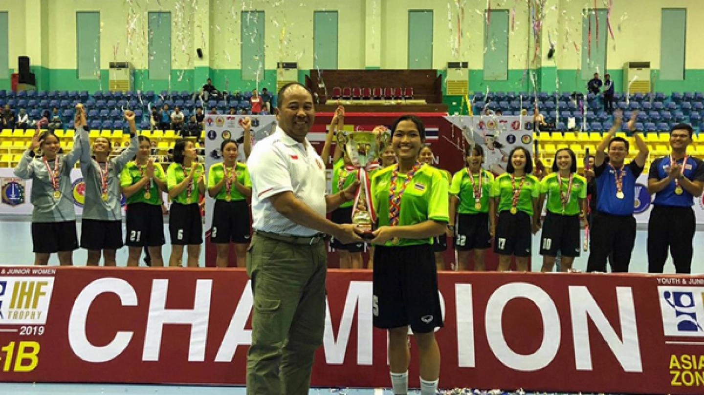 Thailand take youth and junior honours in Jakarta