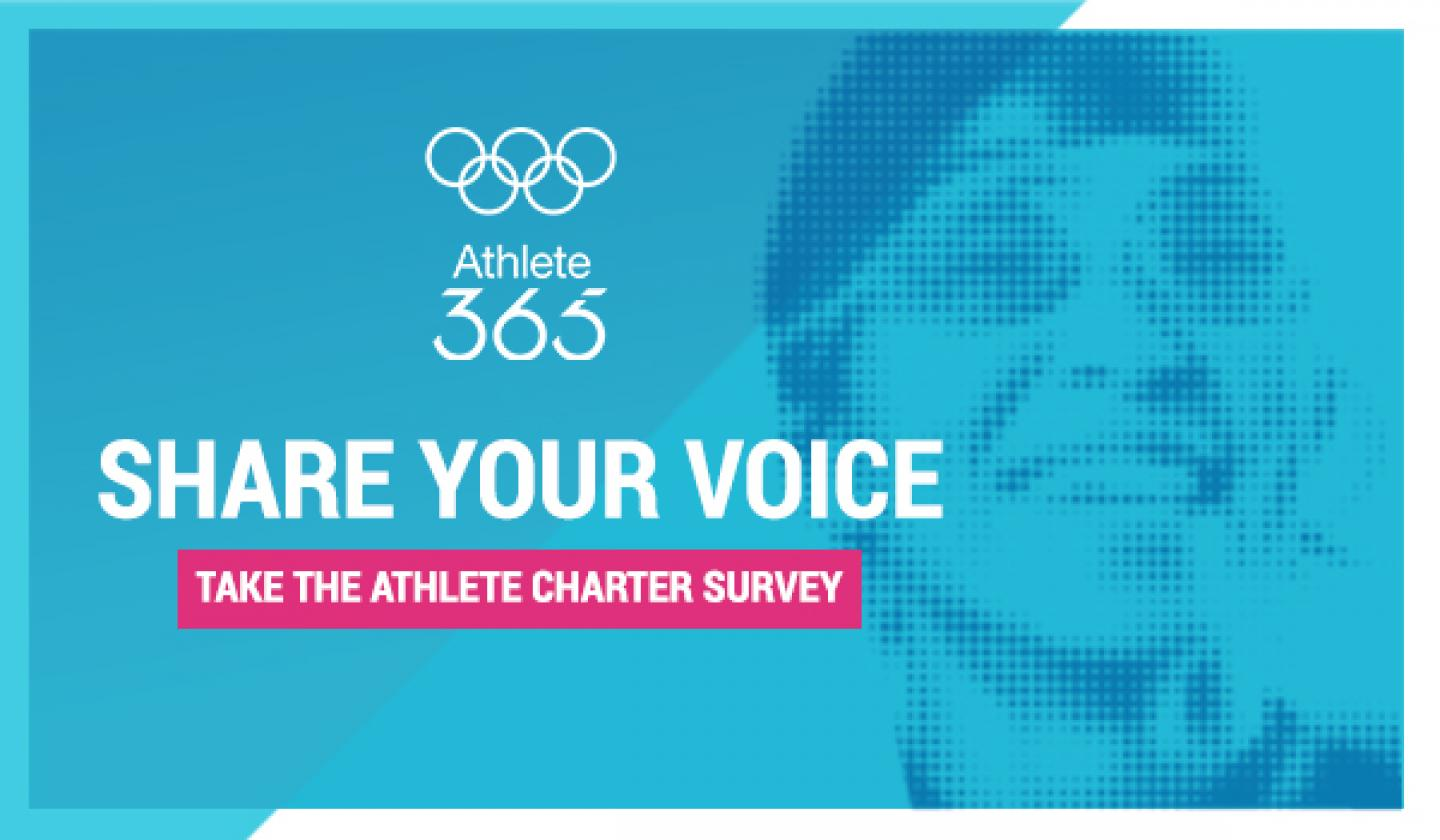 Athlete Charter - sign up and shape the conversation