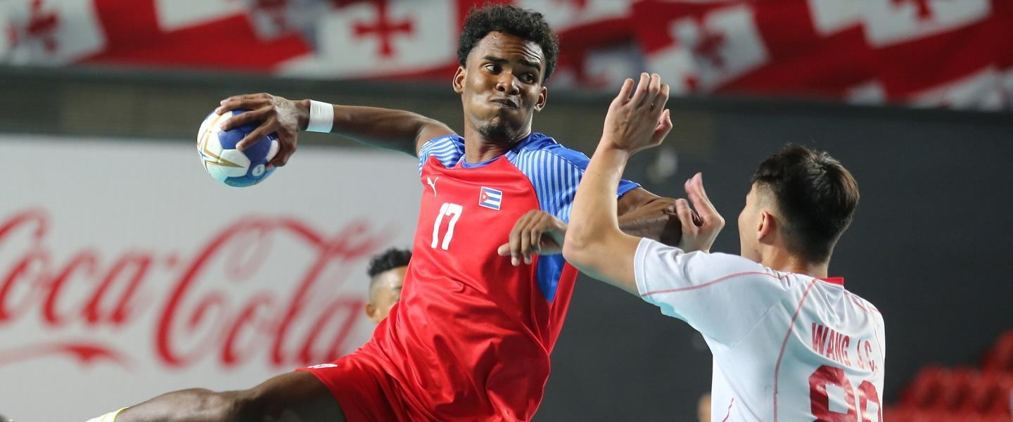 Cuba top of Group A after win versus China