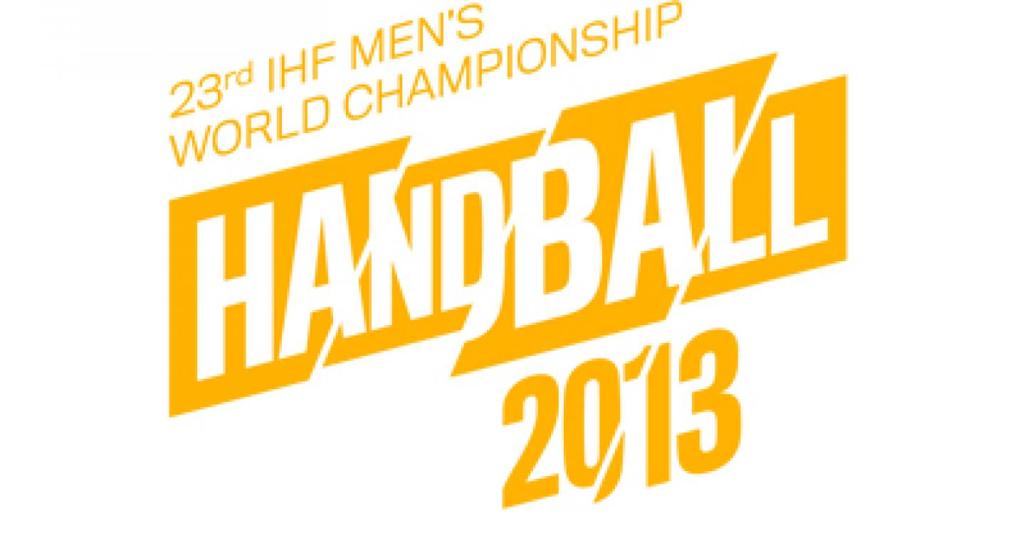Draw result of the XXIII Men's World Championship in Spain