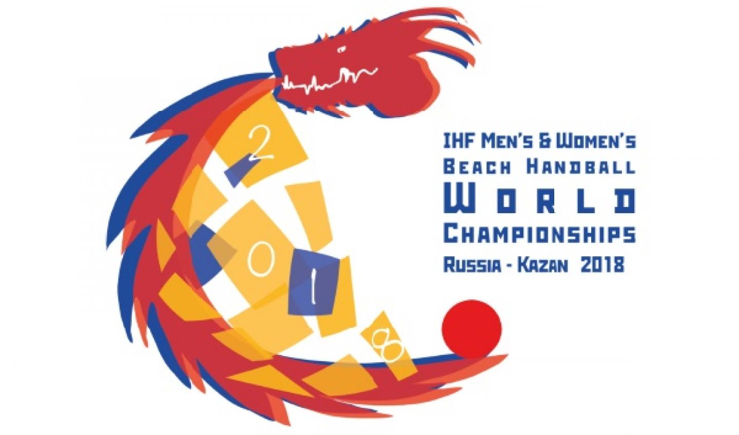 Draw for the 2018 Men's and Women's Beach Handball World Championships