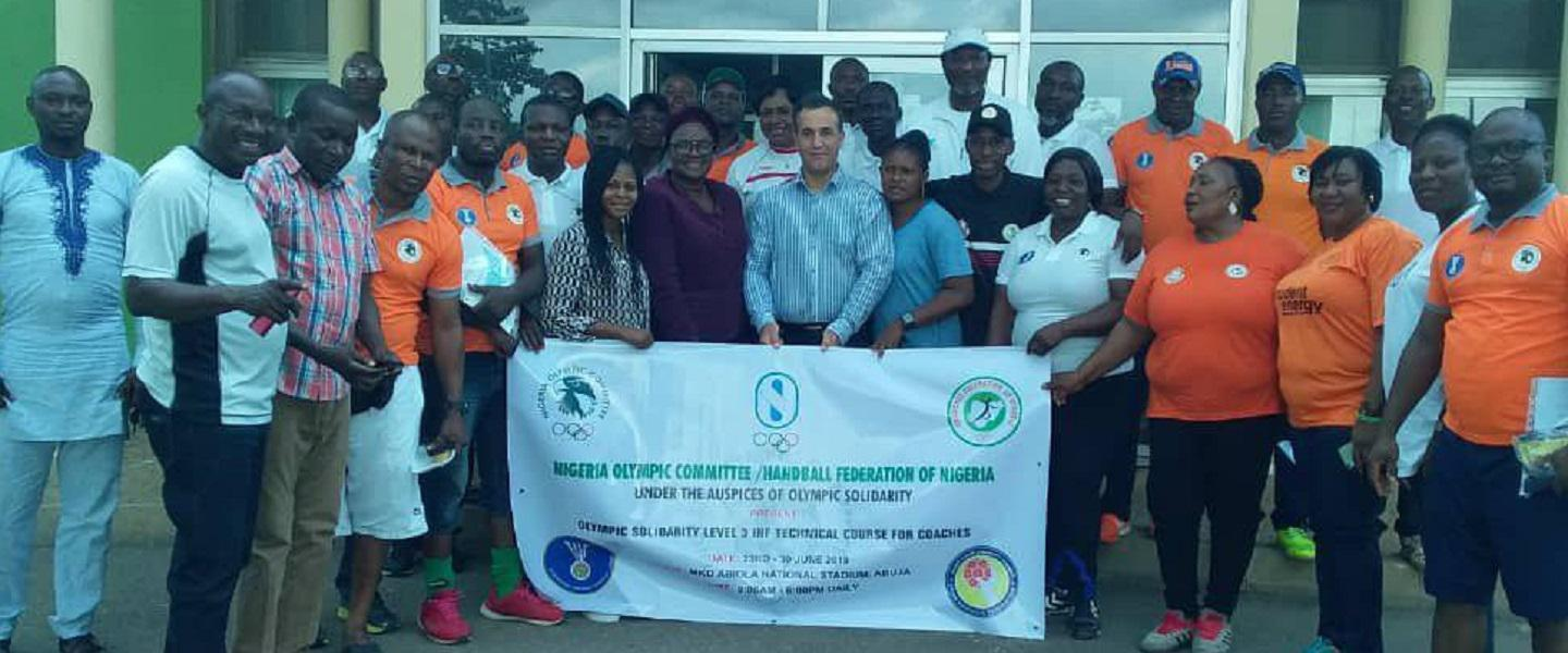 25 coaches in Olympic Solidarity course in Nigeria