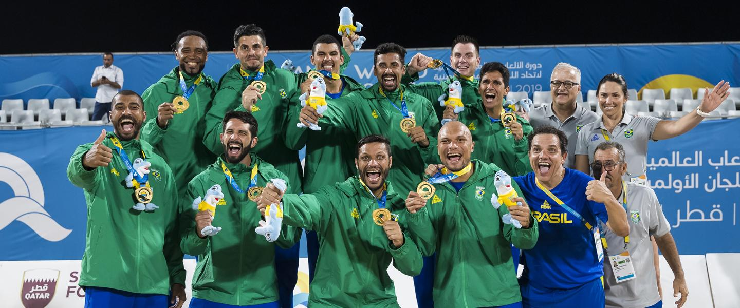 Qatar 2019 – Brazil's (men) gold medal in quotes