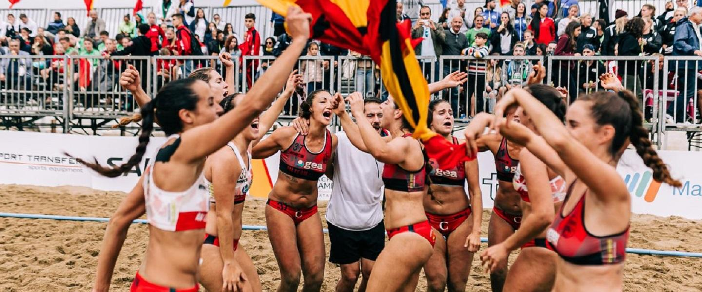 Spanish teams triumph at Beach Handball Champions Cup