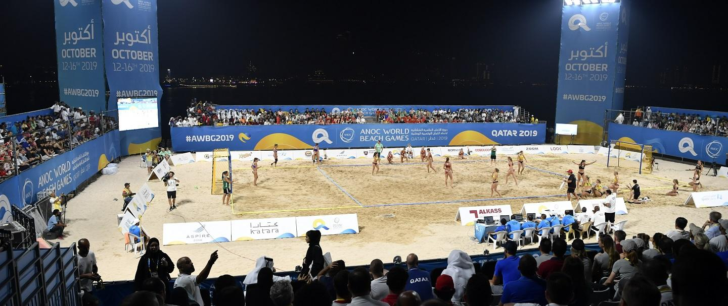 "Qatar 2019 – IWGA President: ""Beach handball has a very good future"""