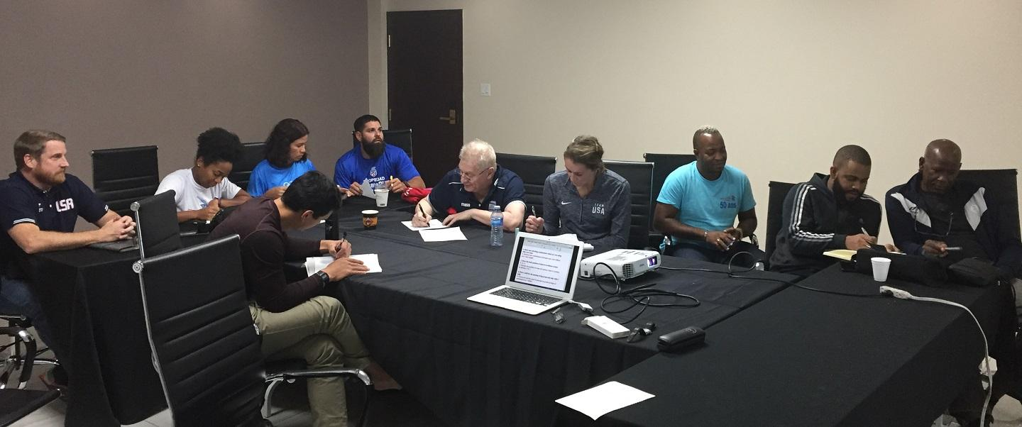 Seven Coaches Pass Coaches Course in Montreal