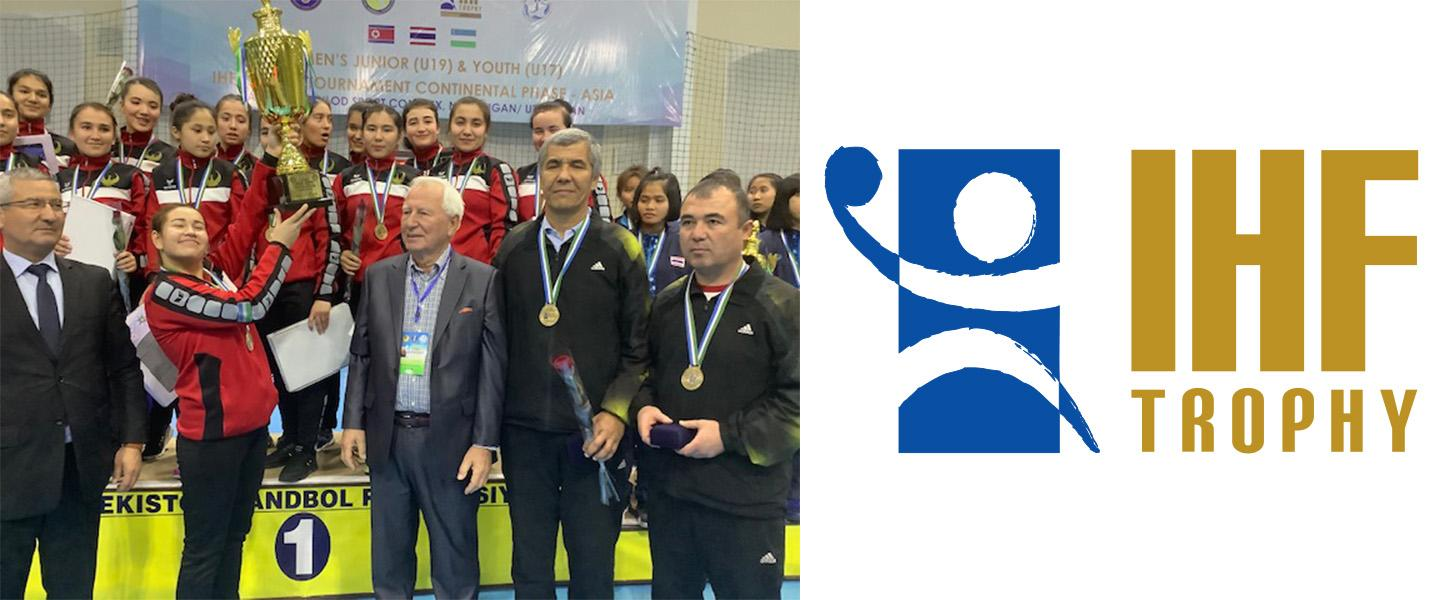 Uzbekistan and DPR Korea – The last two teams to qualify for the IHF Trophy Intercontinental Phase
