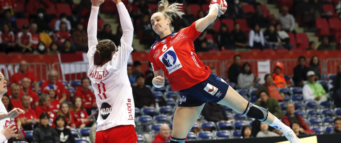Norway overcome slow start for victory over Denmark